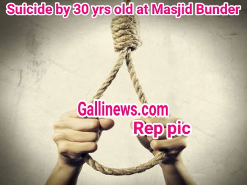 Suicide at Masjid Bunder by 30 yrs old Man