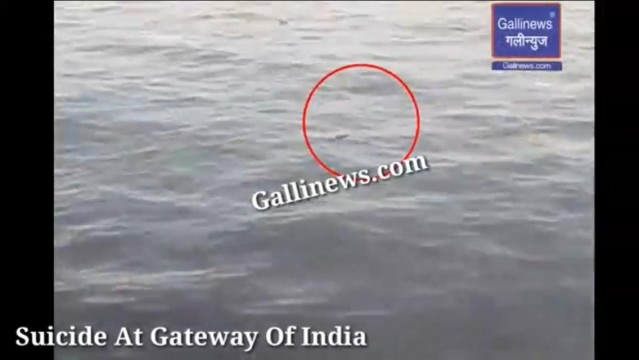 Suicide At Gateway Of India