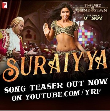 Thugs of Hindostan Most Awaited  Suraiyya Song Of Katrina Kaif Teaser Released