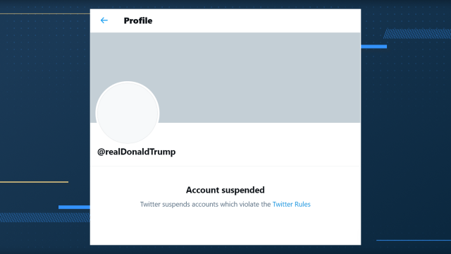 Donald Trump Twitter Account Permanently Suspended