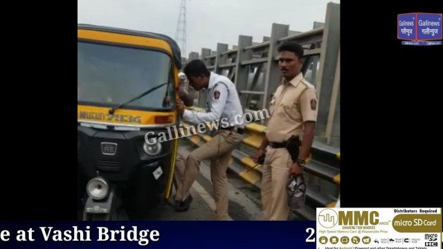 Boy jump of from Vashi Bridge