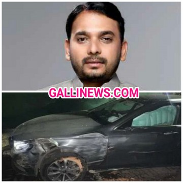 Congress MLA Vishwajeet Kadam ke Car ka Hua Accident
