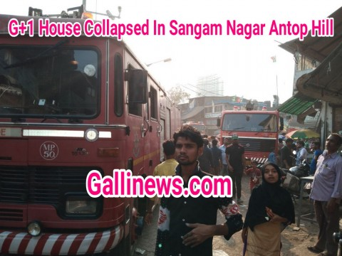 House Collapsed In Sangam Nagar Antop Hill Wadala