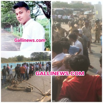 5 Police wale Suspended for  Custodial death of Young Man Vijay Singh Local Public ka Hungama at Wadala