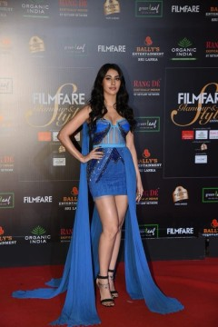 Driving our blues away was Warina Hussain at the Filmfare Glamour AndStyle Awards 2019.