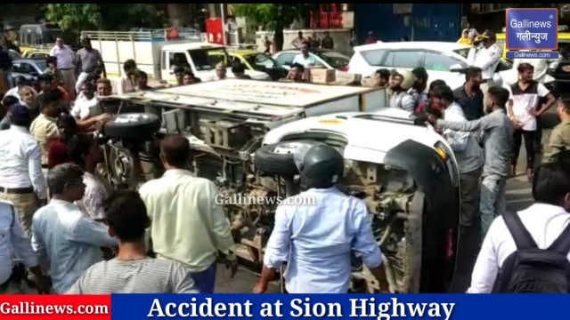 Accident at Sion Highway