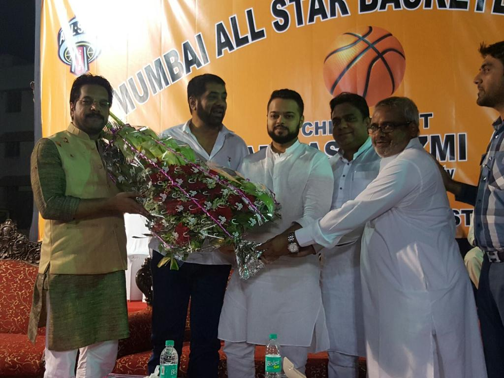 Mumbai All Star Game Basket Ball mastan YMCA Ground