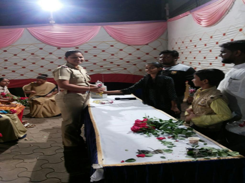 Womens Day Celebrate In Kurla Police Stn