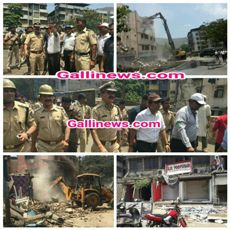 Demolition In Mumbra